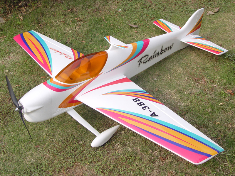 Rainbow f3a 3d aerobatic pnp red